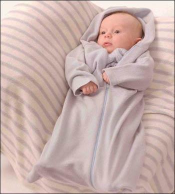 Так выглядит спальный мешок для самых маленьких