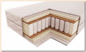 Лучший ортопедический эффект - у матрасов с независимым пружинным блоком