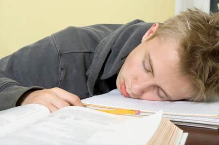 А поспать можно и в школе