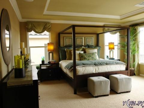 Большой спальне - большую кровать
