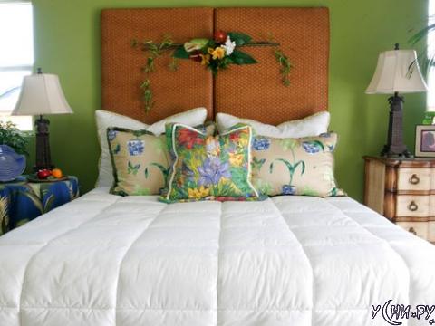 Застеленная кровать - это важно!
