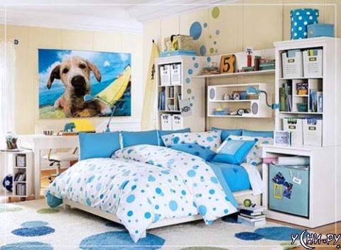 Удобная спальня для хорошего сна