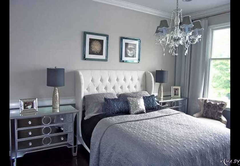 Light grey paint bedroom