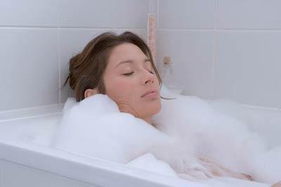 Ванна поможет расслабиться