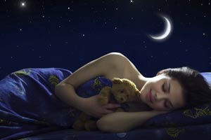Растущая луна - спокойный сон